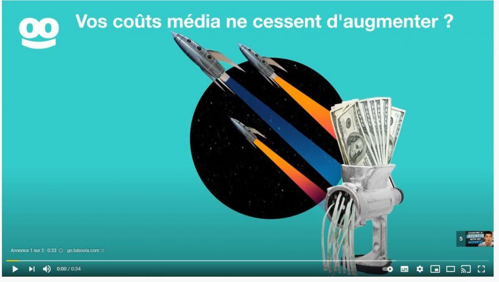 Campagne Google ads vidéo